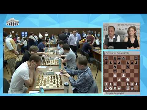 Round 2 of FIDE World Team Championships. FULL