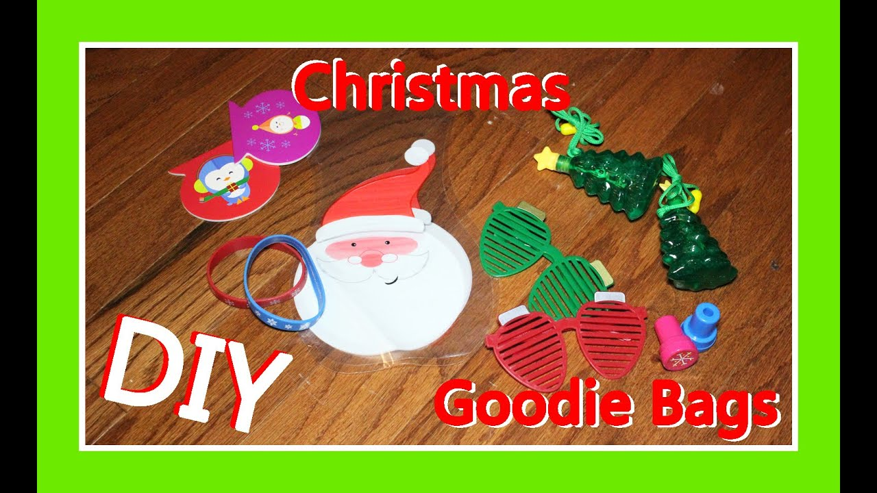 Diy Christmas Goodie Bag Ideas