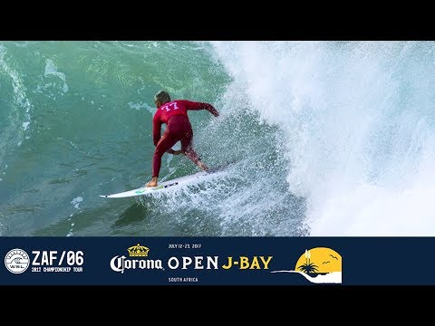 Filipe Toledo's 9.50 Double Barrel Knocks Jordy Smith Out of Event - Corona Open J-Bay 2017