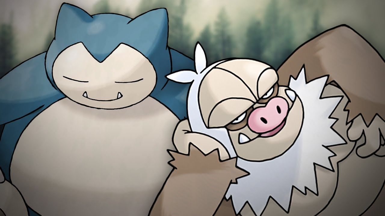 Snorlax Vs Slaking Epic Rap Battles Of Pokemon 14 Youtube