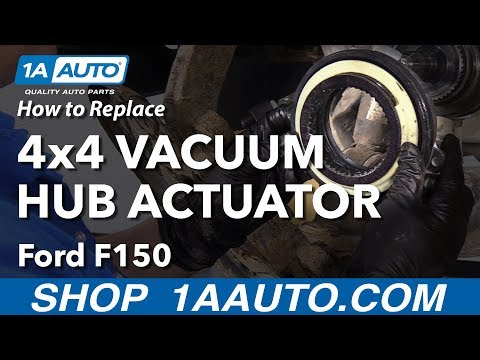 How to Replace 4x4 Vacuum Hub 09-14 Ford F-150