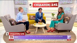 Жінка, що досягла бажаної фігури - у гостях Сніданку Ірина Яценко