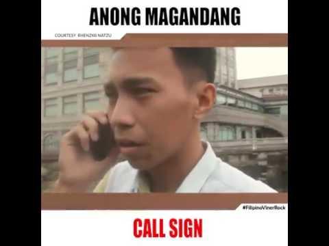 Anong magandang call sign