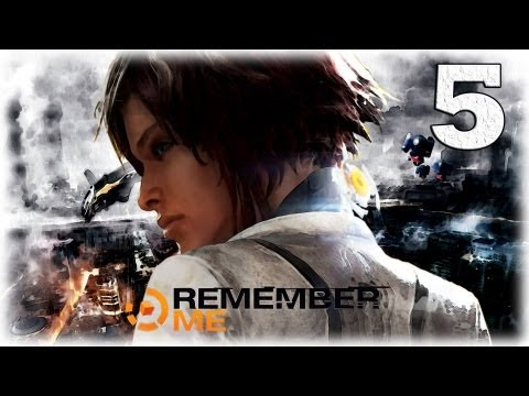 Смотреть прохождение игры Remember me. Серия 5 - Разборки в трущобах.