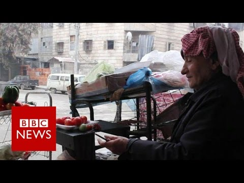 Inside Aleppo: Living Under Threat Of Siege (Exclusive) - BBC News
