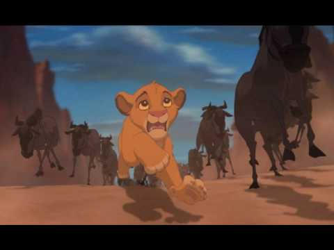 The Lion King The Stampede Youtube