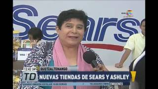 Sears y Ashley Furniture Homestore abren tiendas en Quetzaltenango