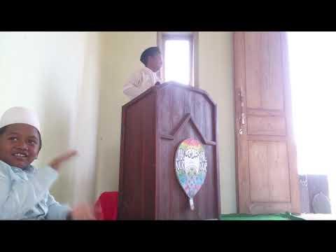 ENAKNYA JADI SANTRI,Pidato Fauzan Akmal Pratama.DIJAMIN LUCUNYA..