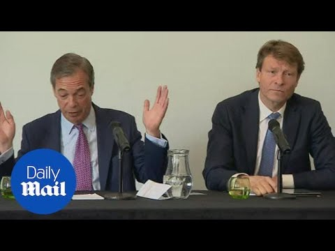 Nigel Farage says he hopes to 'break' two party political system