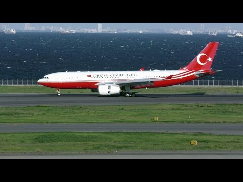 VIP Flight (TC-TUR / Airbus A330-243 / Republic of Turkey / 2015-10-07 15:26 JST / HND)
