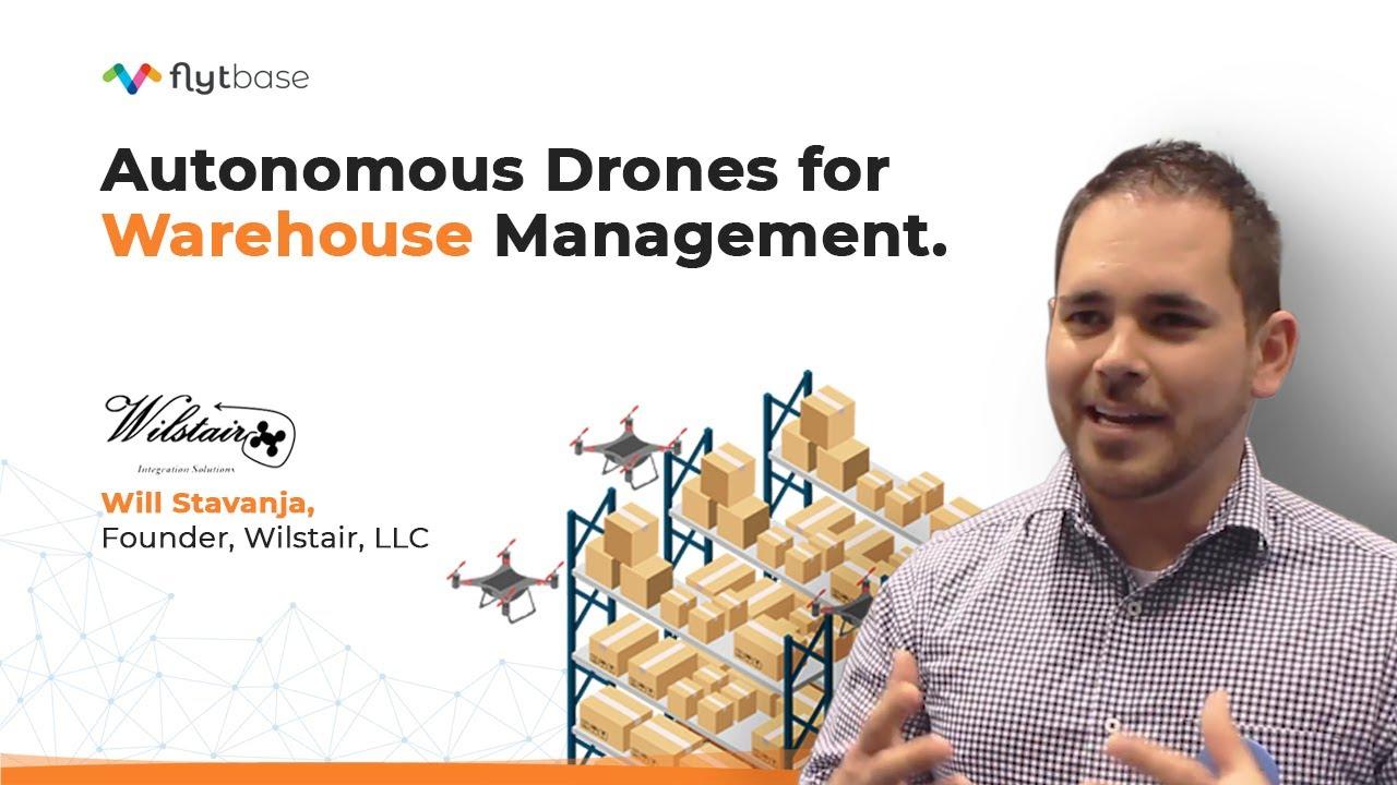 Autonomous Drones for Warehouse Management | Drones in Warehousing
