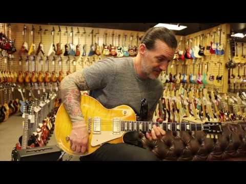 Keith Nelson from Buckcherry Trades Prototype at Norman's Rare Guitars