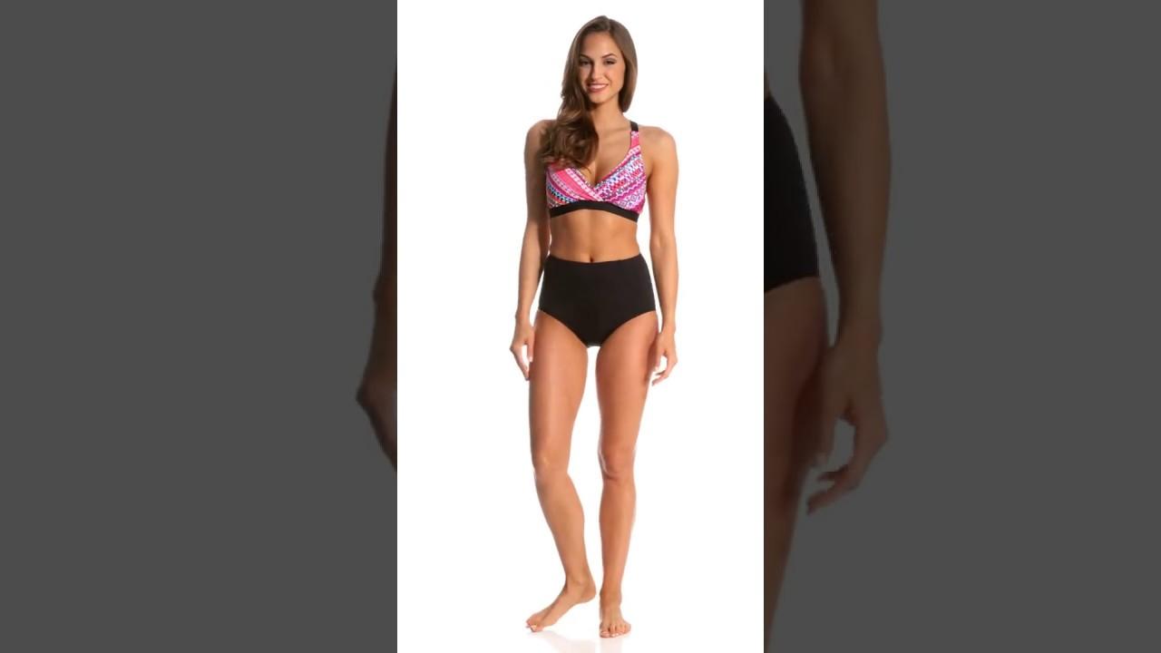 102cbff68cc02 Coco Reef Contours Keepsake Garnet Princess Seam High Waist Bikini Bottom    SwimOutlet.com