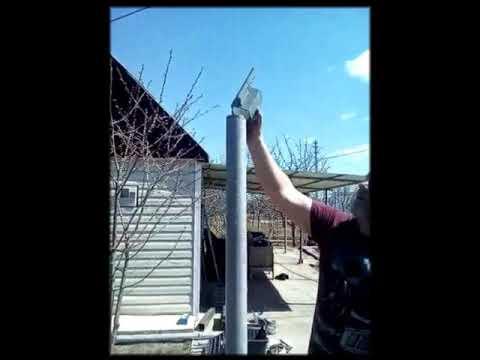 Забор без сварки. Монтаж металлического каркаса и входной группы без сварки.