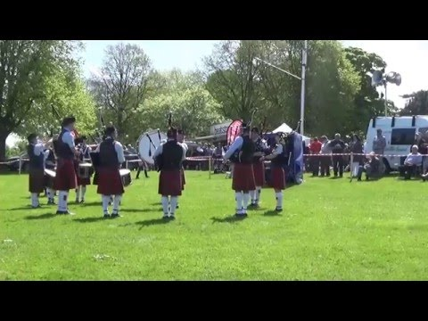 Ballycoan Pipe Band @ Ards & North Down Pipe Band Championships 2016