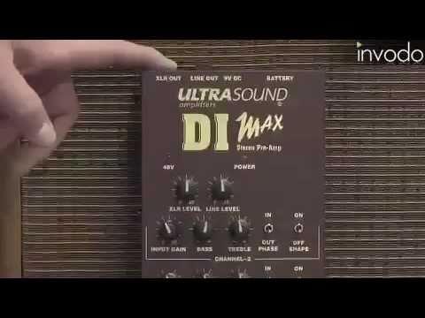 საუკეთესო დი-აი ბოქსები - UltraSound DI Max.