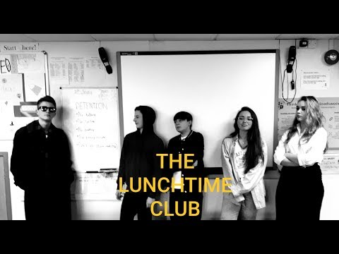 "THE LUNCHTIME CLUB (Short comedy film)- ""The Breakfast club"" parody"