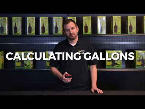 How To Calculate The Gallons Of Water In Your Pond