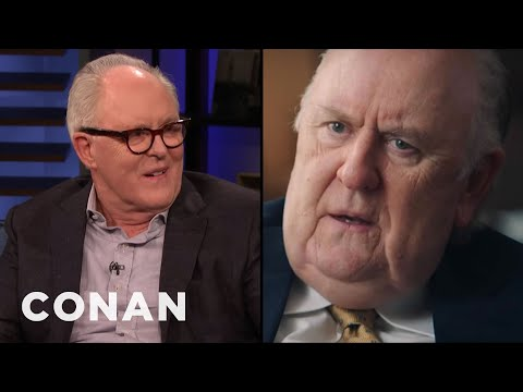John Lithgow Wore Prosthetic Man Boobs To Play Roger Ailes - CONAN on TBS