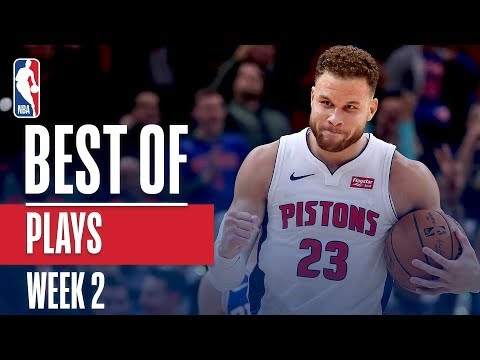 NBA's Best Plays | Week 2