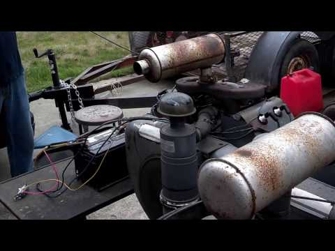 Wisconsin VH4D Heavy Duty Air Cooled 4 Cylinder Gasoline