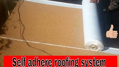 "Self Adhere Roofing for flat roofs,SBS ""Peel and Stick ruberoid roofing"",anyone can do it !"