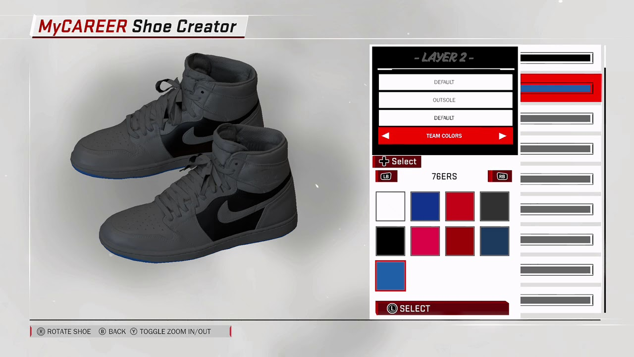 HOW TO CREATE YOUR SIGNATURE JORDAN SHOE 2K18 MY PLAYER (PART1)