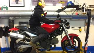 Hammer and Tongs Performance, Ducati Monster 600 Dyno run