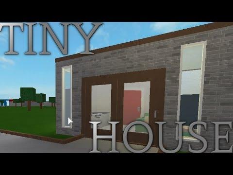 Roblox Welcome To Bloxburg Tiny House Speedbuild Youtube