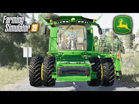 FS19- A JOHN DEERE S760 AND A WHOLE LOT OF CROPS TO HARVEST! AMERICAN SERIES #3