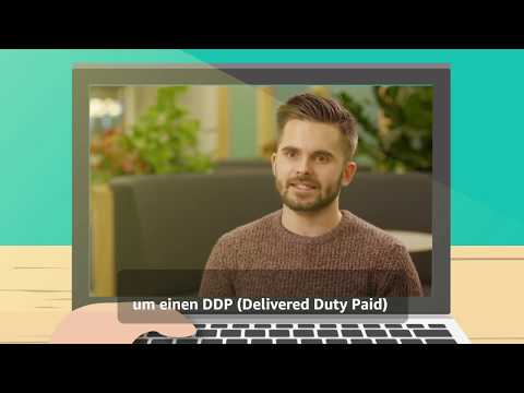 Amazon FBA- How To Send Your Products From Europe To Amazon US Fulfilment Centres? [DE SUBTITLES]
