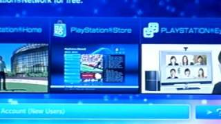 How to create multiple PS3 online accounts