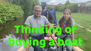 So you are thinking about buying a Narrowboat?