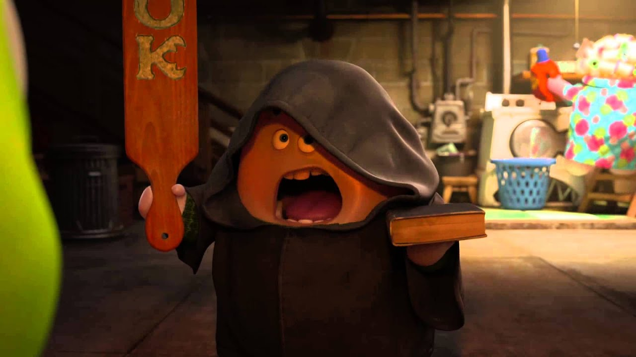 Monsters University Clip - Initiation to Oozma Kappa! | Official Disney  Pixar HD