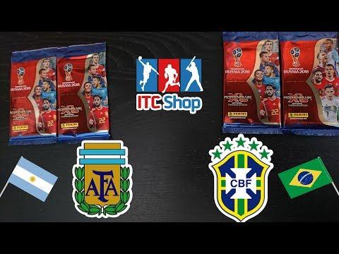 Panini FIFA World Cup Russia 2018 Adrenalyn XL | Argentína - Brazília