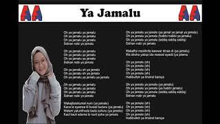 Terharu Bikin Adem Hati !!!   Nissa Sabyan   Ya Jamalu Lirik Lagu 2018