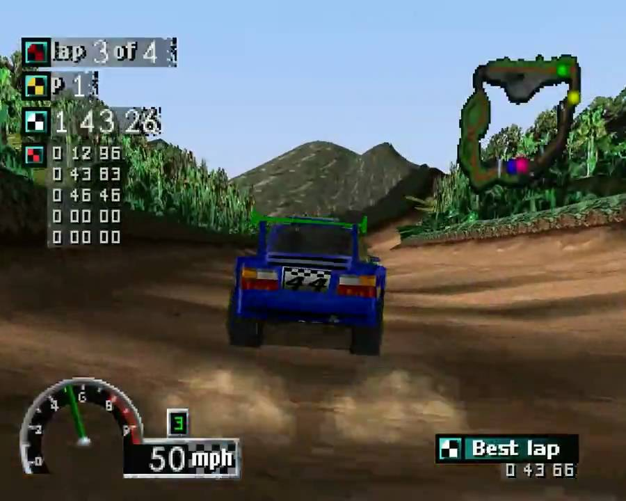 Rally Cross PS1 ROM #24