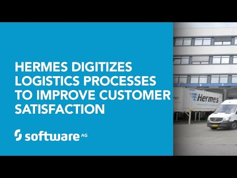 Hermes digitizes logistics processes to improve customer satisfaction