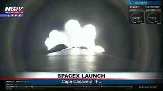 FULL LAUNCH: SpaceX launches Nusantara Satu Satellite from Cape Canaveral, FL (FNN)