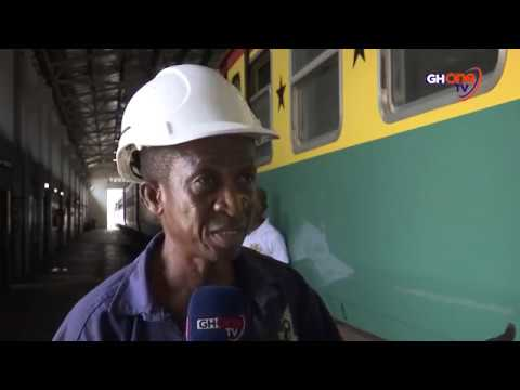 GHANA'S RAILWAY SECTOR STRUGGLES TO SURVIVE #GHOneNews
