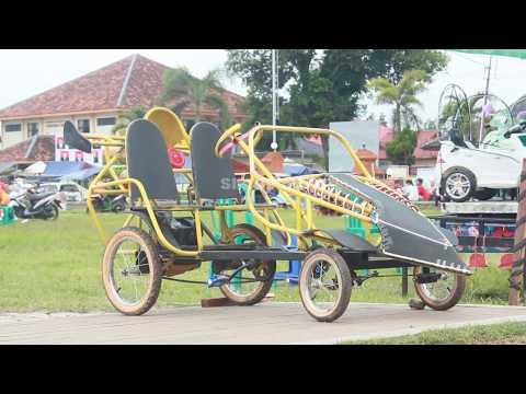 Wahana Bermain Anak Alun-Alun Ciledug cirebon Jawa Barat