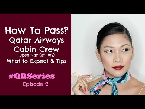 Qatar Airways CABIN CREW Open Day Tips By Misskaykrizz