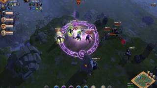 Albion Online PvP: Mace @ GvG #6 [HnS vs Infinite] Round 6