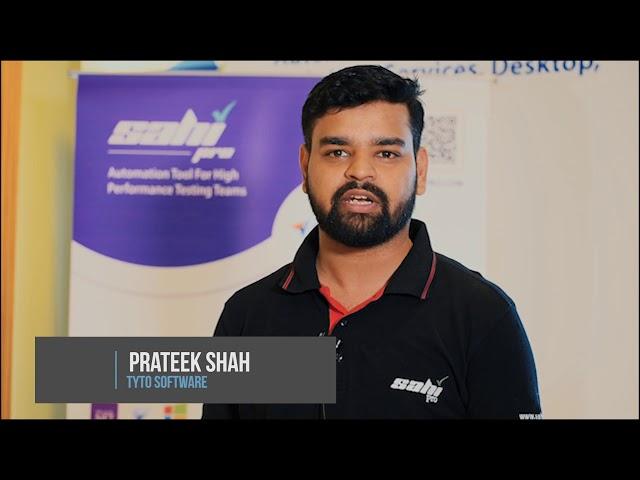 Testimonial by Prateek