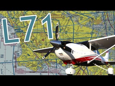Landing at California City Airport (L71) in HD