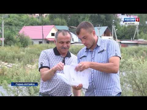 В Горно-Алтайске продолжается благоустройство набережной реки Майма