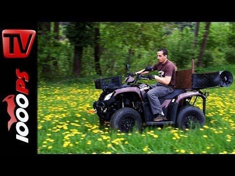 Kymco ATV MXU 465i Test Action Fazit