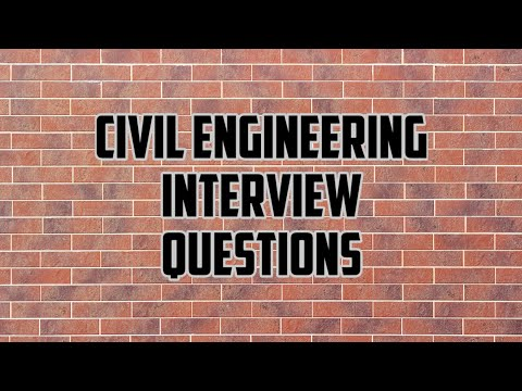 Civil Engineer Interview || Civil Engineering Basic Knowledge || Fresher Civil Engg. Interview