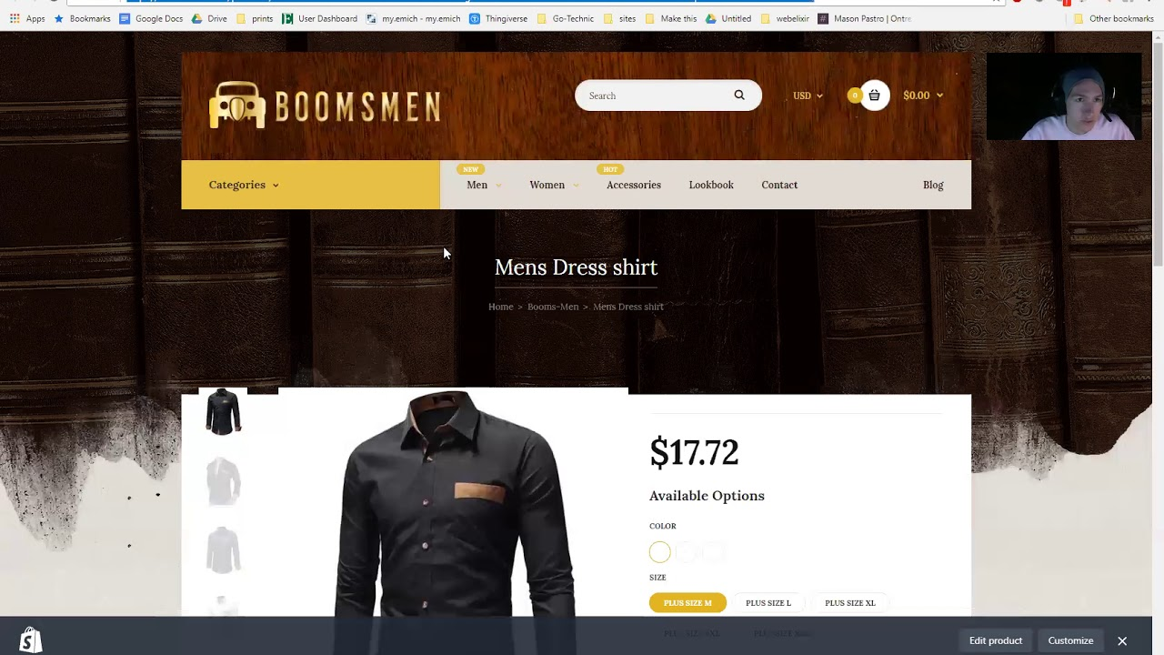How to correctly shorten a Shopify URL Link #1