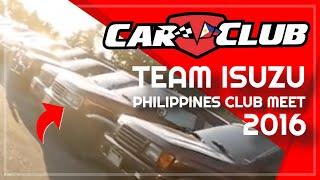 Team Isuzu Philippines.  First Official Car Club Meet 2016